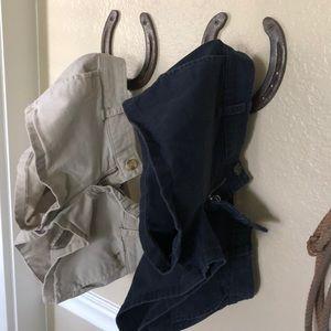 ABERCROMBIE &FITCH khaki shorts BOGO (2)